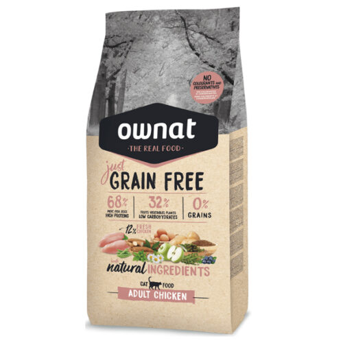 Ownat Just Gato Grain Free Pollo