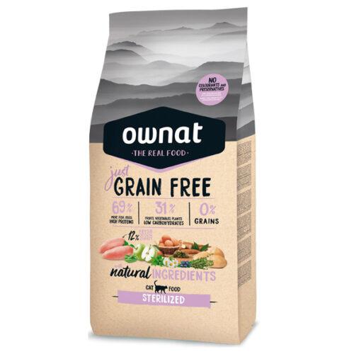 Ownat Grain Free Esterilizados