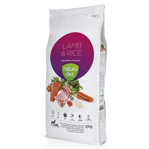 Natura Diet Lamb&Rice cordero