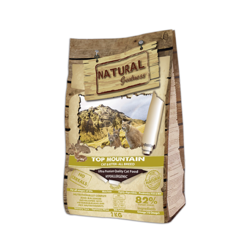 Natural Greatness Top Mountain Gato Cachorro y Adulto