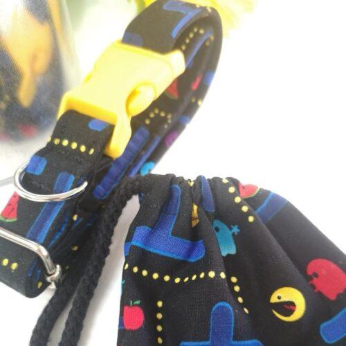 Collar Pacman Handmade 100% Algodón M/L