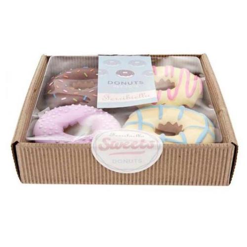 caja donut para perros