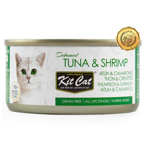 Kit Cat Atún y Camarones