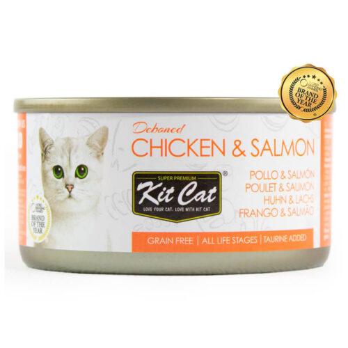 Kit Cat Pollo y Salmón