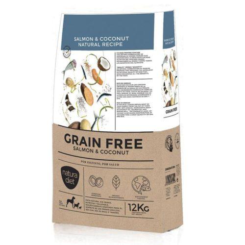 Natura Diet Salmón y Coco Sin Cereales