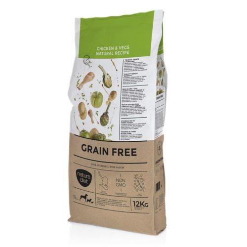 Natura Diet Pollo y Vegetales Sin Cereales