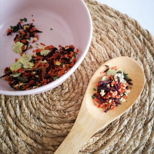 suplemento mix de verduras deshidratadas