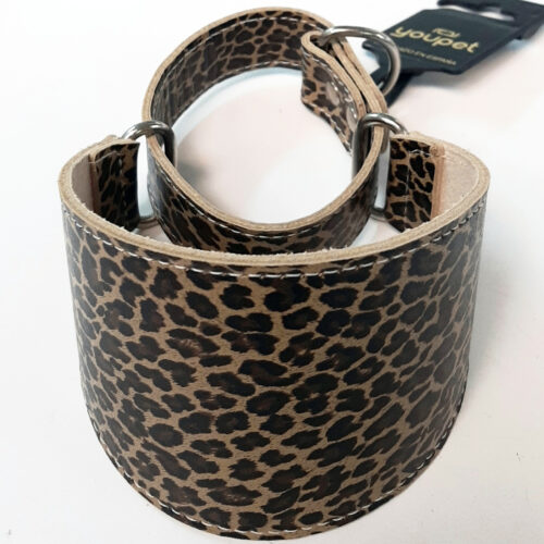 Collar Martingale Leopardo Talla 35