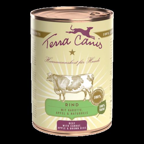 Terra Canis Classic Buey con Zanahoria y Manzana