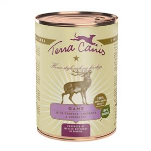 Terra Canis Classic Ciervo con Calabaza, Amaranto y Arándano