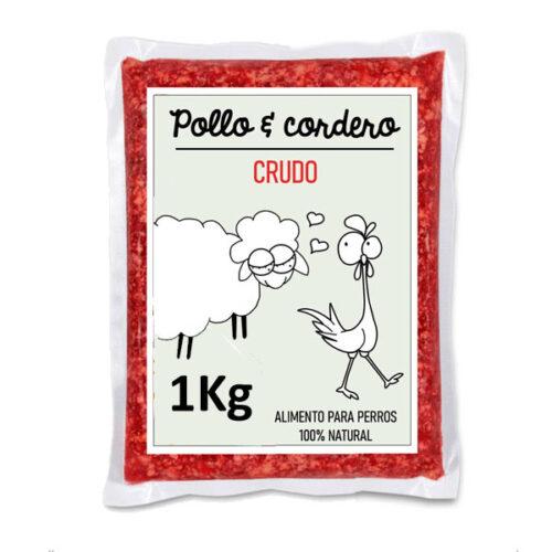Barf Pollo y Cordero Crudo